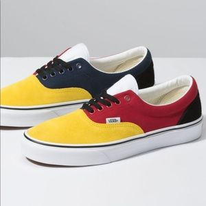💜VANS ERA OTW RALLY MULTI YELLOW RED BLUE WHITE🆕